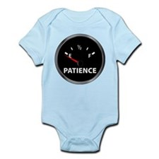 Out of Patience Fuel Gauge Infant Bodysuit