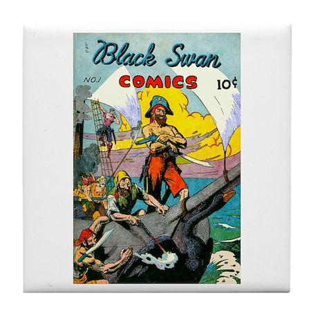 Black Swan Comis #1 Tile Coaster