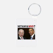 NETANYAWHO? Keychains