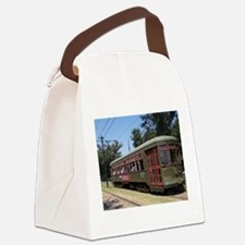Streetcar Canvas Lunch Bag
