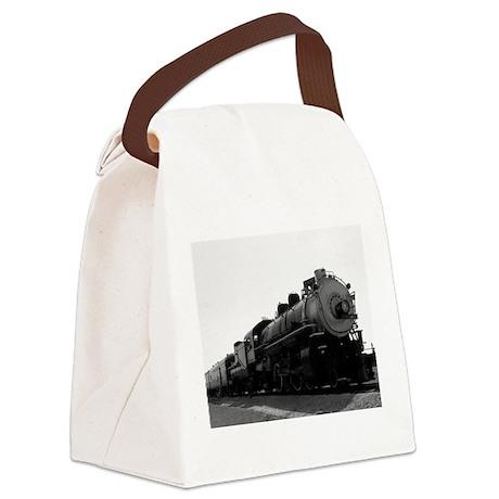 Steam Engine Canvas Lunch Bag