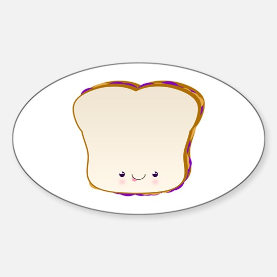 PBJ Sticker (Oval)