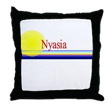Nyasia Throw Pillow