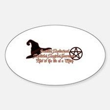 This is the life of a Witch Bumper Stickers