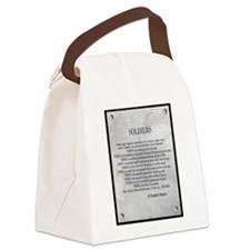Soldiers Canvas Lunch Bag