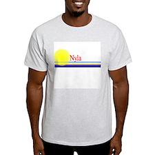 Nyla Ash Grey T-Shirt