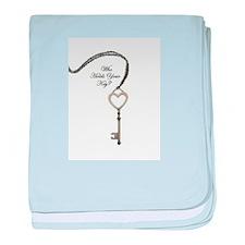 Key Master baby blanket