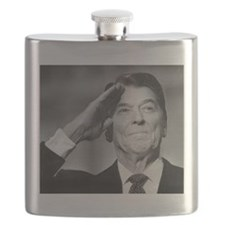 Ronald Reagan Flask