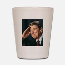 Ronald Reagan Shot Glass