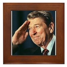 Ronald Reagan Framed Tile