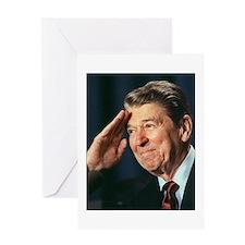 Ronald Reagan Greeting Card