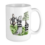 CA Ferret Large Mug