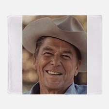 Ronald Reagan Throw Blanket