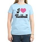 I Love Kickball Women's Light T-Shirt