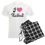 I Love Kickball Men's Light Pajamas