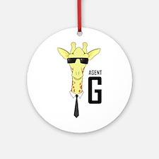 Agent G Ornament (Round)
