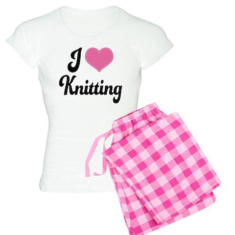 I Love Knitting Women's Light Pajamas