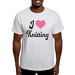 I Love Knitting Light T-Shirt
