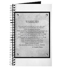 Warriors Journal