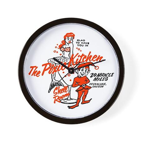 Pixielands Pixie Kitchen Wall Clock