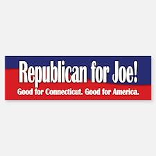 Republican for Joe (Lieberman) Bumper Bumper Bumper Sticker
