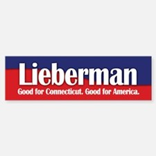 Lieberman Bumper Bumper Bumper Sticker