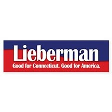 Lieberman Bumper Bumper Sticker