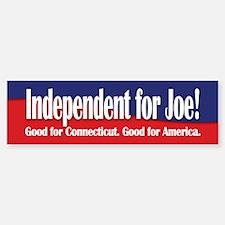 Independent for Joe (Lieberman) Bumper Bumper Bumper Sticker