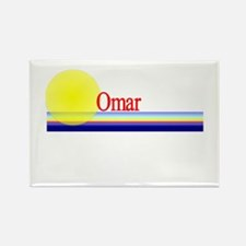Omar Rectangle Magnet