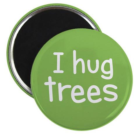 I Hug Trees Magnet
