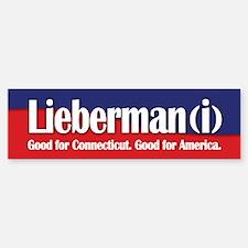 Lieberman (i) Bumper Bumper Bumper Sticker