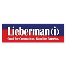 Lieberman (i) Bumper Bumper Sticker