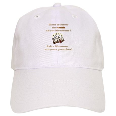 Truth About Mormons Cap