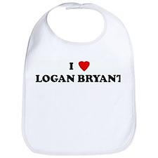 I Love LOGAN BRYANT Bib