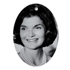 Jackie Kennedy Ornament (Oval)