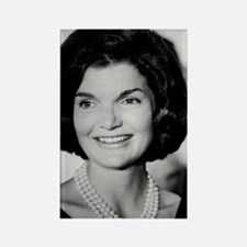 Jackie Kennedy Rectangle Magnet