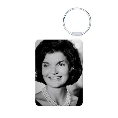 Jackie Kennedy Aluminum Photo Keychain