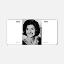 Jackie Kennedy Aluminum License Plate