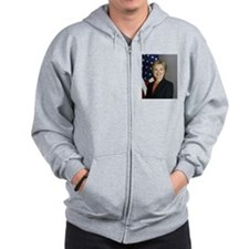 Hillary Clinton Zip Hoody