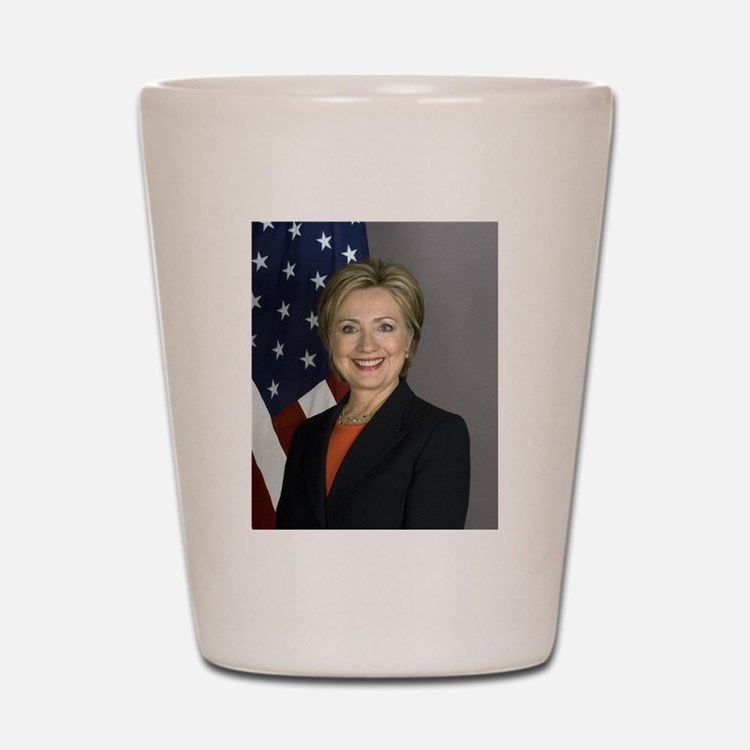 Hillary Clinton Shot Glass