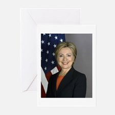 Hillary Clinton Greeting Cards (Pk of 10)