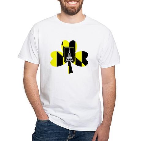 Baltimore City Irish Black T-Shirt T-Shirt