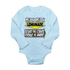 Milk Milk Lemonade Long Sleeve Infant Bodysuit