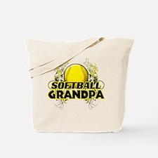 Softball Grandpa (cross).png Tote Bag