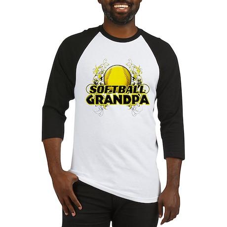 Softball Grandpa (cross).png Baseball Jersey