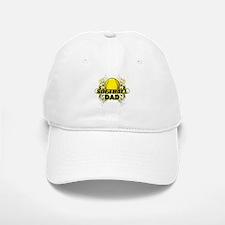 Softball Dads (cross).png Baseball Baseball Cap