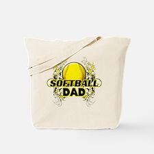 Softball Dads (cross).png Tote Bag