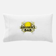 Softball Dads (cross).png Pillow Case