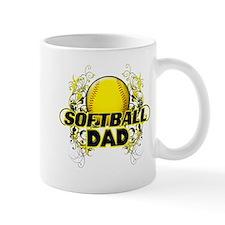 Softball Dads (cross).png Mug