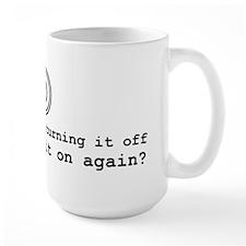 Computer Advice: Turn It Off Mug